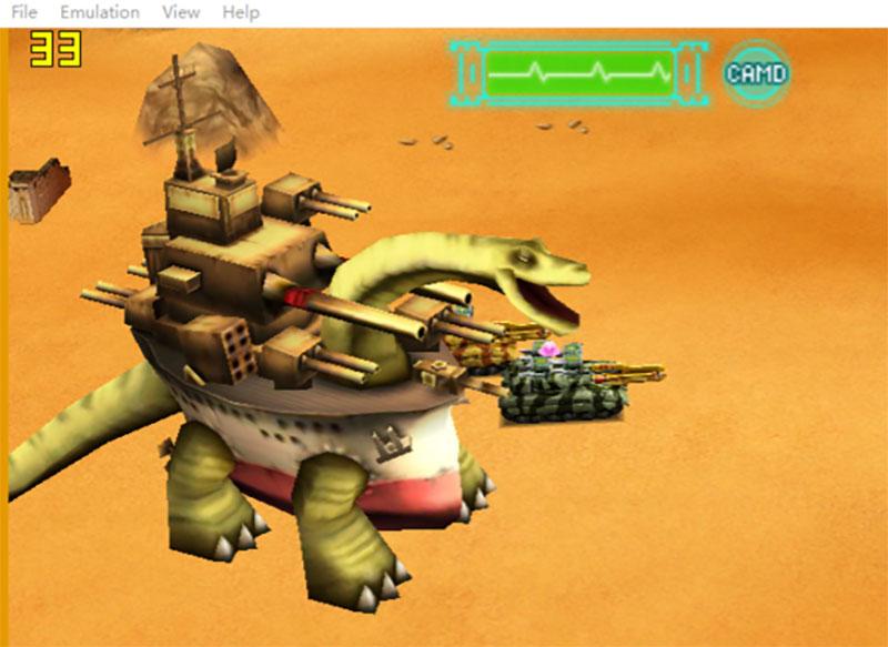 3DS模拟器ctira大新闻!重装机兵4大地图突破30帧