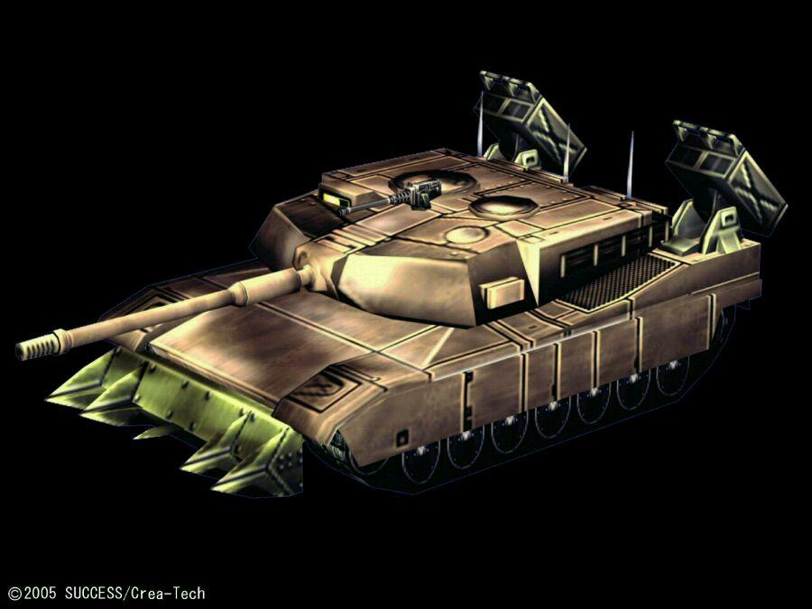 重装机兵沙尘之锁 战车设定图片素材