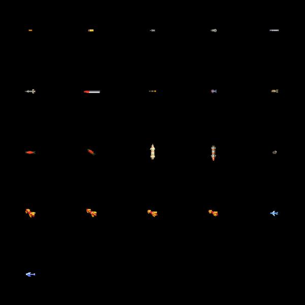 重装机兵风格炮弹弹道图片素材