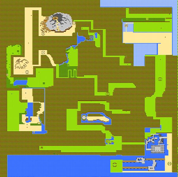 重装机兵NOTE4.0游戏大地图